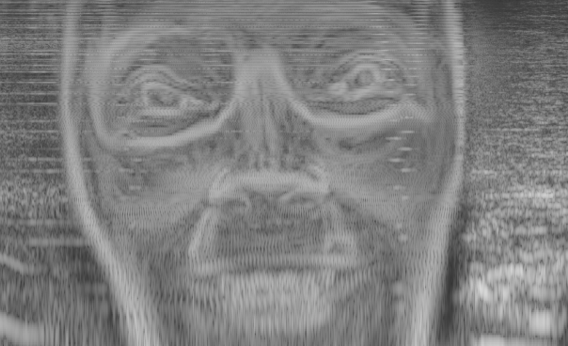 Recreating the spectrogram face